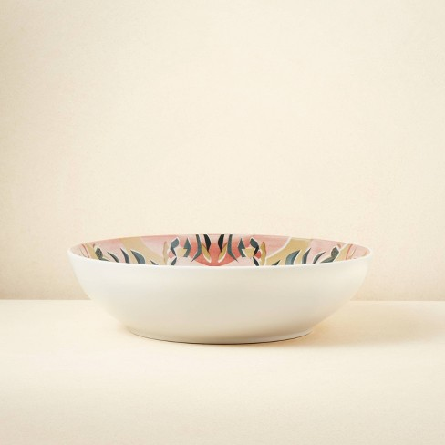 94.7oz Stoneware Printed Serving Bowl - Opalhouse™ designed with Jungalow™ - image 1 of 3