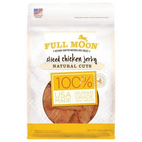 Full Moon Natural Cut Chicken Jerky Dog Treat - 12oz - image 1 of 3