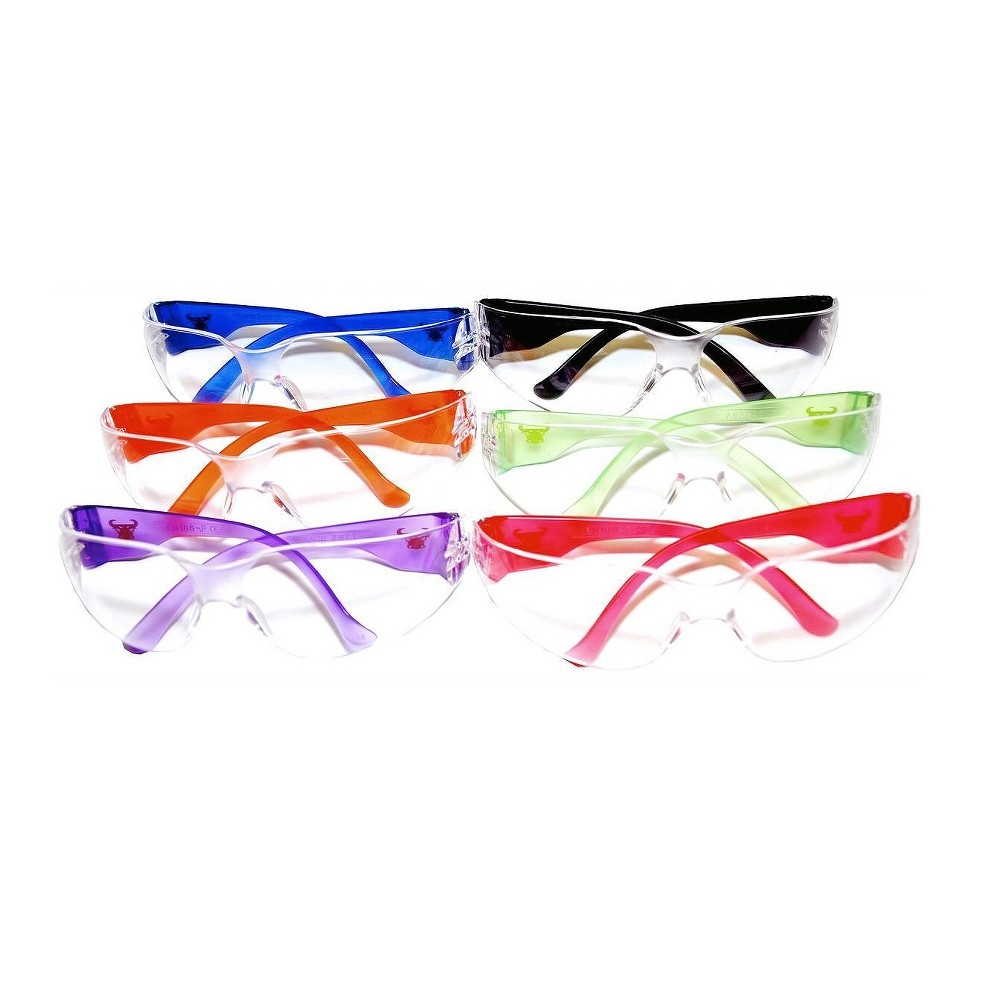 Safety Goggle,Scratch,Impact, and Ballistic Resistant - G & F, Multi-Colored