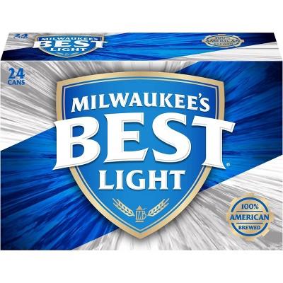 Milwaukee's Best Light Beer - 24pk/12 fl oz Cans