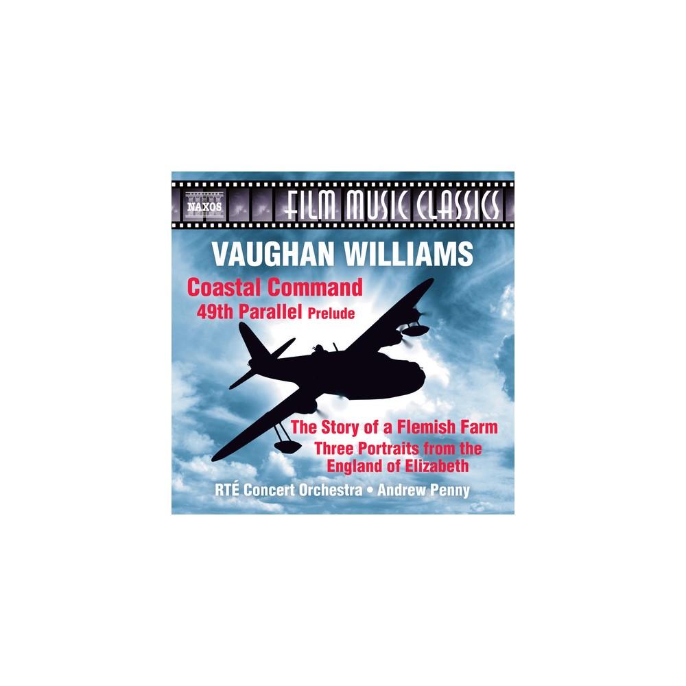 Rte Concert Orchestr - Vaughan Williams:Coastal Command 49th (CD)