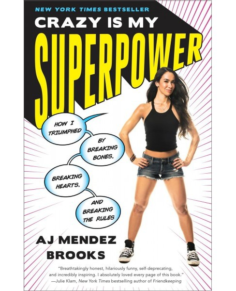 Crazy Is My Superpower : How I Triumphed by Breaking Bones, Breaking Hearts, and Breaking the Rules - image 1 of 1