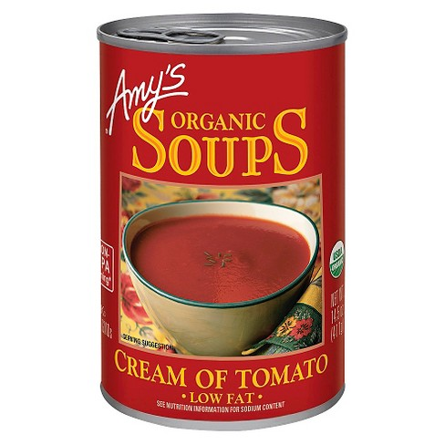 Amy's® Organic Soups Cream of Tomato Low Fat - 4.5oz - image 1 of 1