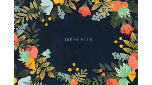 Guest Book : Modern Floral Edition -  (Hardcover) - image 1 of 1