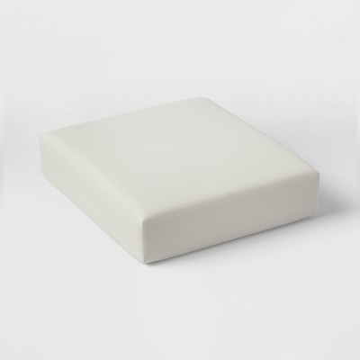 Woven Outdoor Deep Seat Cushion DuraSeason Fabric™ Linen - Threshold™