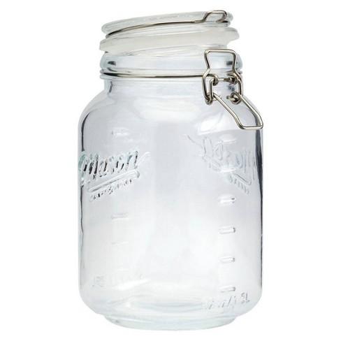 Mason Craft & More 1.5L Clamp Jars - image 1 of 3