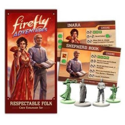 Firefly Adventures - Respectable Folk Expansion Board Game