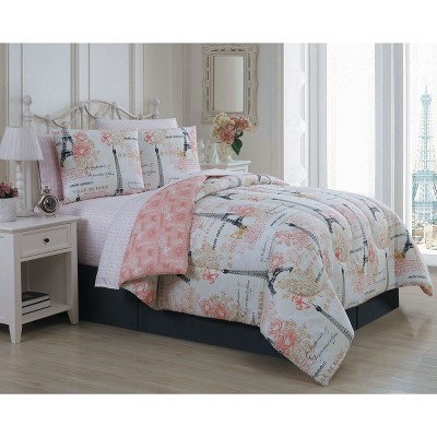 8pc Amour Comforter Set - Geneva Home Fashion