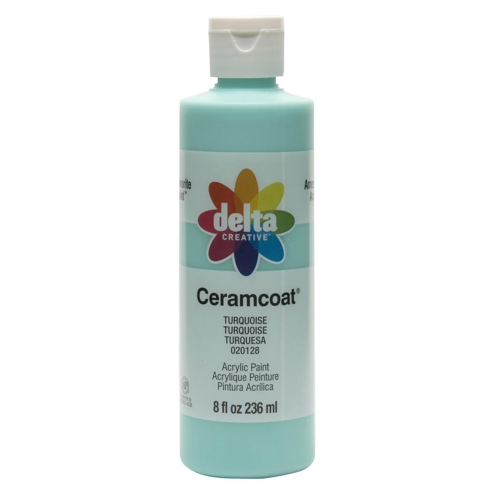 Delta Ceramcoat 8oz Acrylic Paint - Turquoise