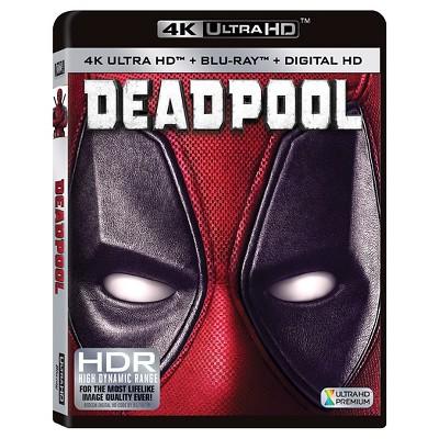 Deadpool(4K Ultra HD + Blu-Ray + Digital)