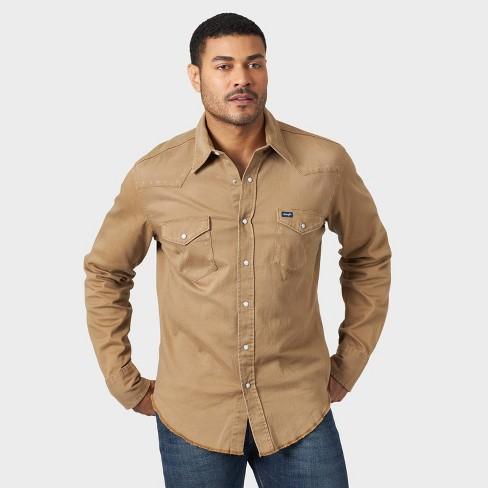 Wrangler Men's Long Sleeve Button-Down Shirt  - image 1 of 2