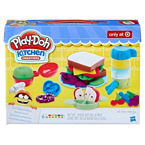 play doh kitchen creations fun time lunchbox - Kitchen Creations