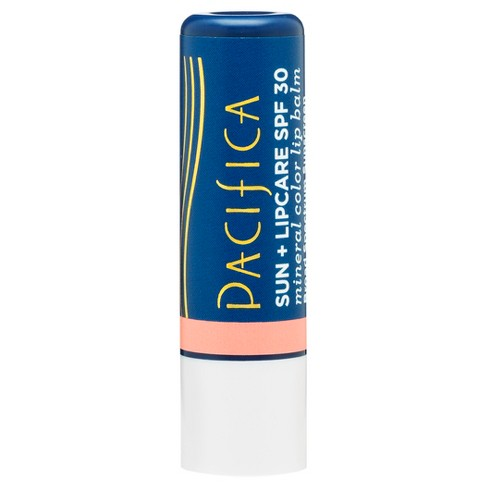 Pacifica Mineral Color Lip Balm Peach - SPF 30 - 0.15oz - image 1 of 3