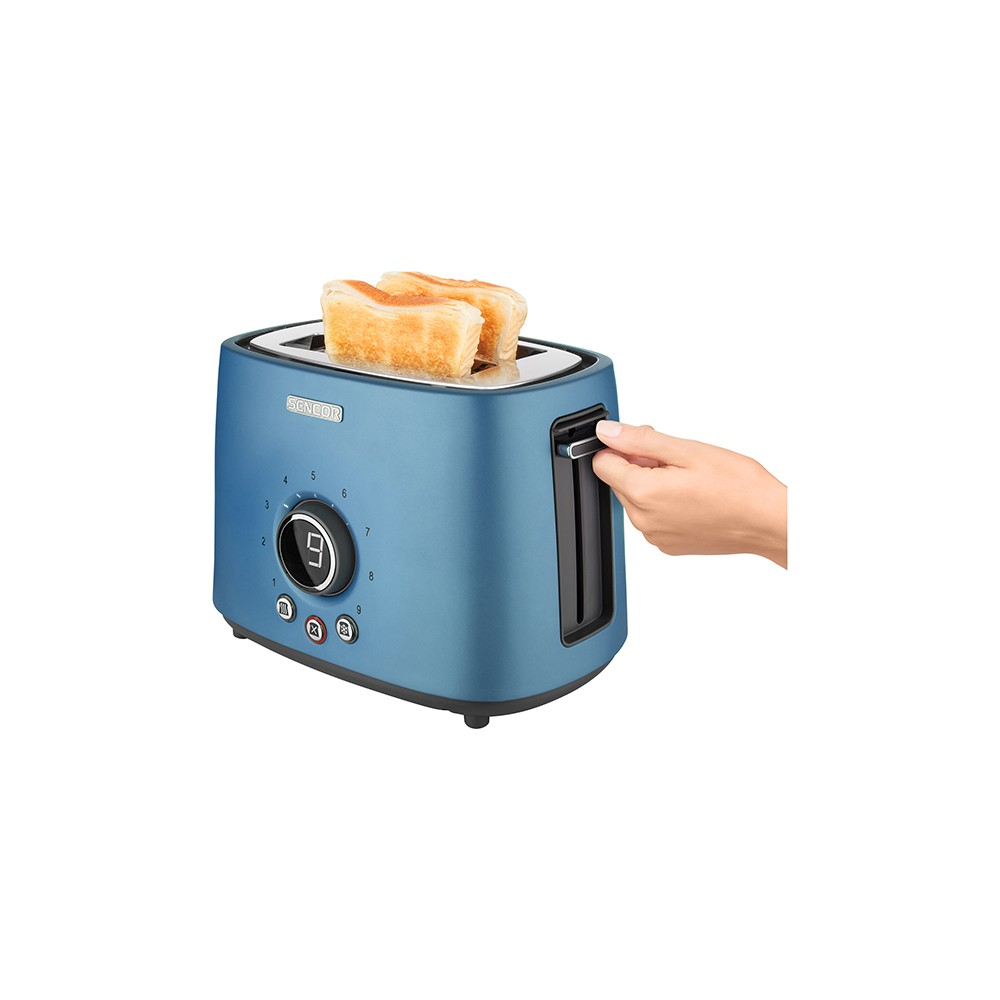 Sencor Metallic 2 Slice Toaster – Blue 54279465