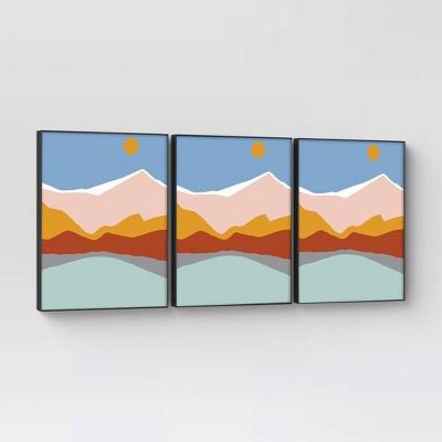 "8"" x 10"" Set of 3 Format Frames Black - Room Essentials™"