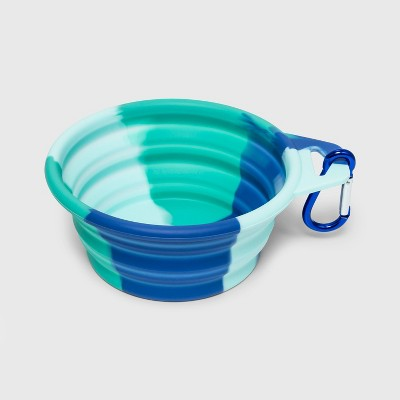 81dc648c72 Silicone Dog Bowl - Blue Green - L - Sun Squad™