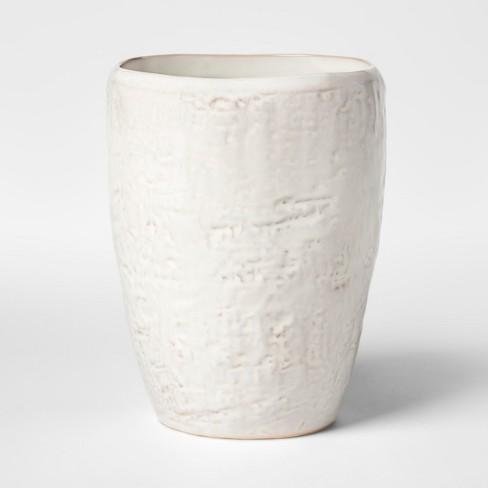 Cravings by Chrissy Teigen Stoneware Utensil Crock White - image 1 of 3