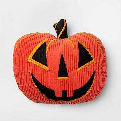 Pumpkin Shaped Pillow Orange   Hyde & Eek! Boutique™ by Hyde & Eek! Boutique