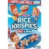 Rice Krispies - Red & Blue Breakfast Cereal - 9.9oz - Kellogg's - image 3 of 4