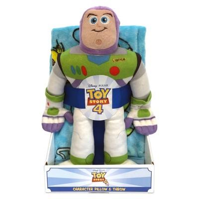 """Toy Story 4 Buzz Lightyear 40""""x50"""" Throw Blanket"""