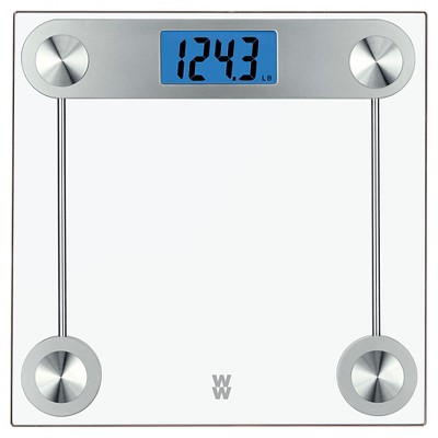 Weight Watchers 24 TR Clear Glass Scale - Conair