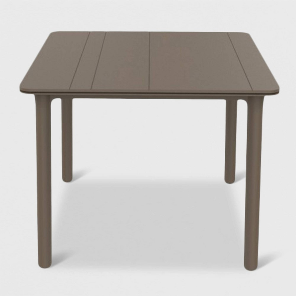 Image of Noa Square Patio Table - Sand - RESOL