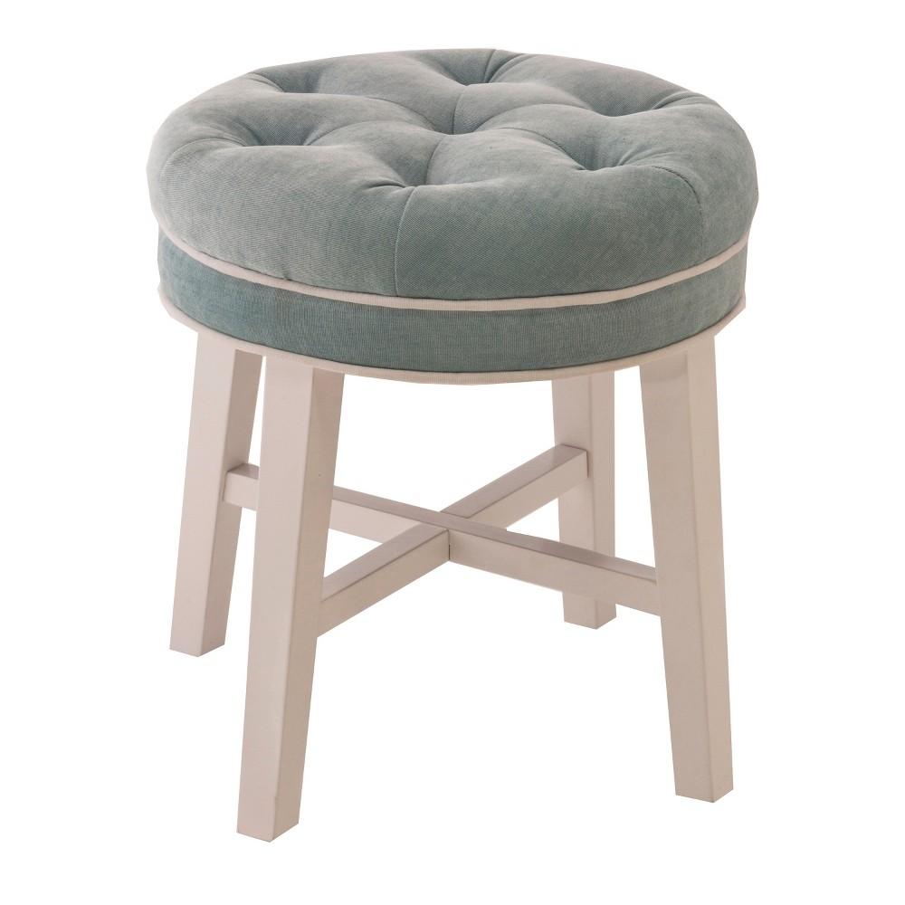 Magnificent Sophia Vanity Stool Whitespa Hillsdale Furniture Blue Evergreenethics Interior Chair Design Evergreenethicsorg