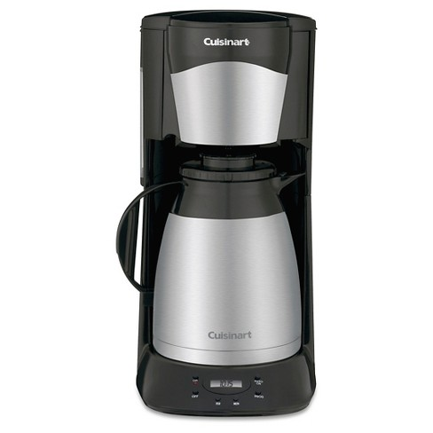Cuisinart 12 Cup Programmable Coffee Maker With Thermal Carafe Black Dtc 975bkn Target