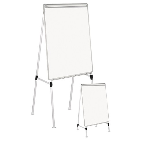 "Universal® Adjustable White Board Easel, 29"" x 41"" - White - image 1 of 1"