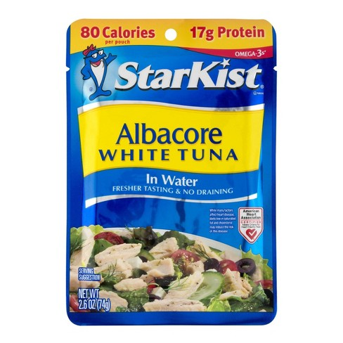 StarKist Albacore White Tuna Pouch - 2.6oz - image 1 of 3