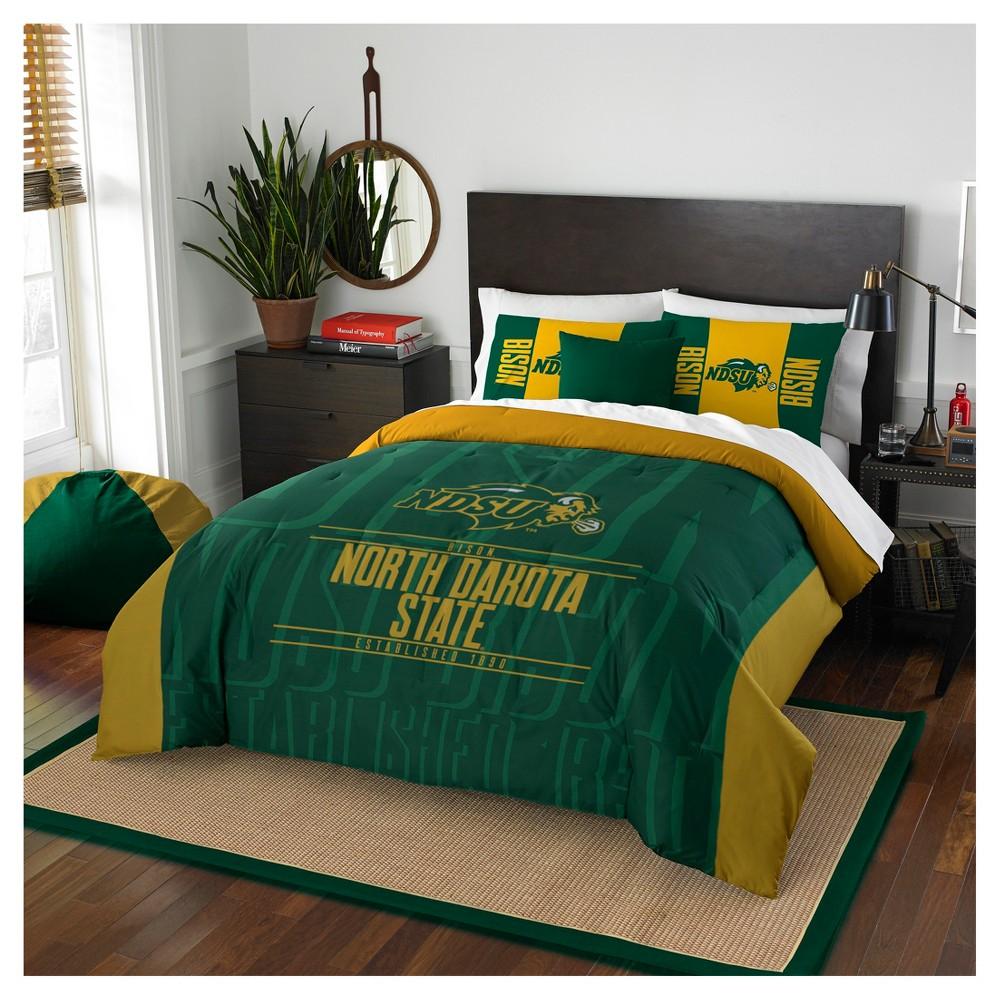 NCAA Northwest Modern Take Full/Queen Comforter Set North Dakota State Bison - 86 x 86