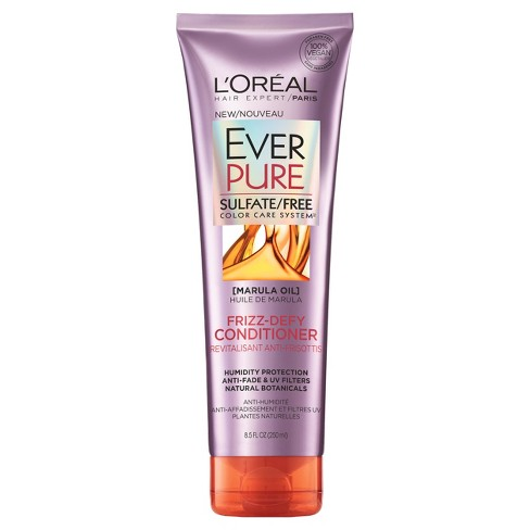 L'Oreal Paris EverPure Sulfate Free Frizz-Defy Conditioner - 8.5 fl oz - image 1 of 2