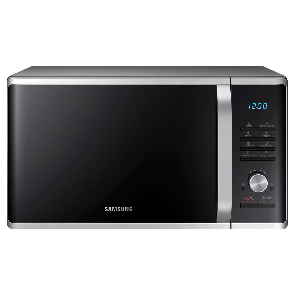Samsung 1.1 cu ft 1000W Microwave Oven - MS11K3000A, Brushed Nickel