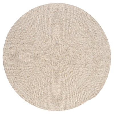 Tremont Braided Area Rug - Natural - (6' Round)- Colonial Mills