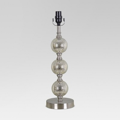 Mercury Glass Stacked Ball Lamp Base Large - Threshold™