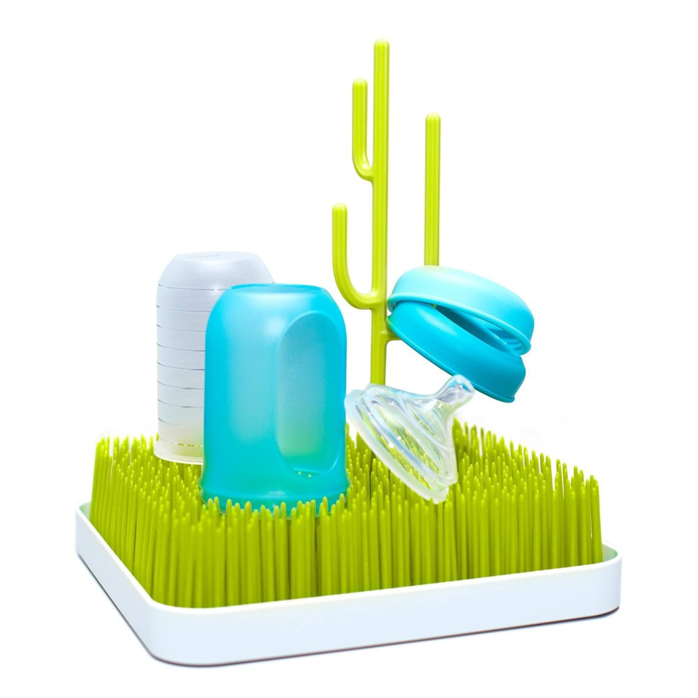 Image of Boon Grass Countertop Bottle Drying Rack