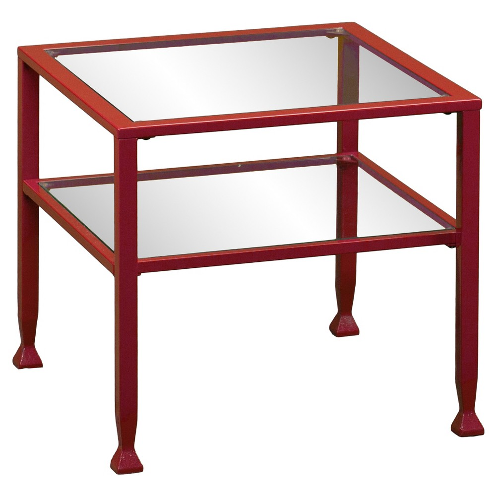 Image of Jamel Bunching Cocktail Table - Red - Aiden Lane