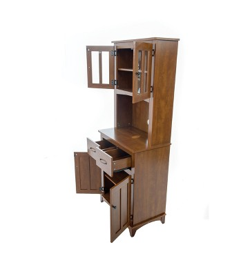 Traditional Microwave Cabinet Oak Home Source Industries Target Rh Com