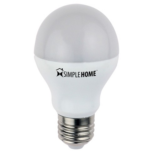 SimpleHome Smart Dimmable Smart Wi-Fi LED Bulb - White (XLB7-1001) - image 1 of 3