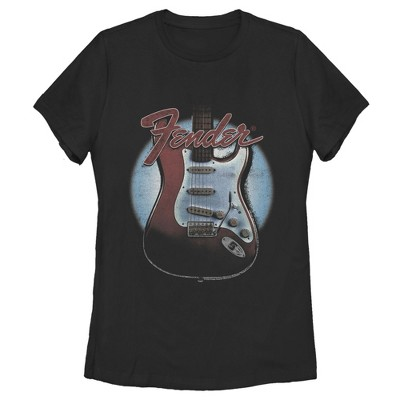 Women's Fender Guitar Spotlight Logo T-Shirt