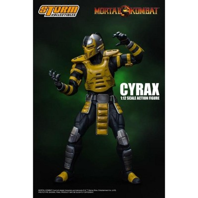 Storm Collectibles Mortal Kombat Cyrax | 1/12 Scaled Figure Action figures