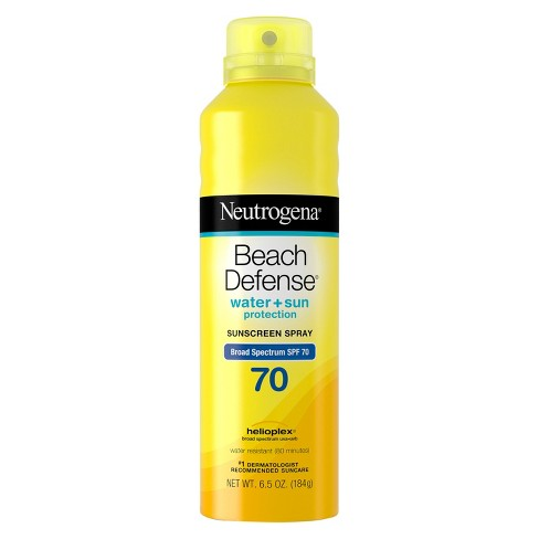 Neutrogena® Beach Defense Broad Spectrum Sunscreen Body Spray - SPF 70 - 6.7oz - image 1 of 3