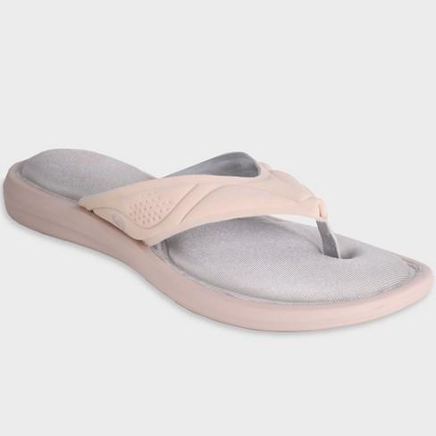 7df89d474fb9 Women s Cala Cush Thong Sandals - C9 Champion® Blush 8   Target