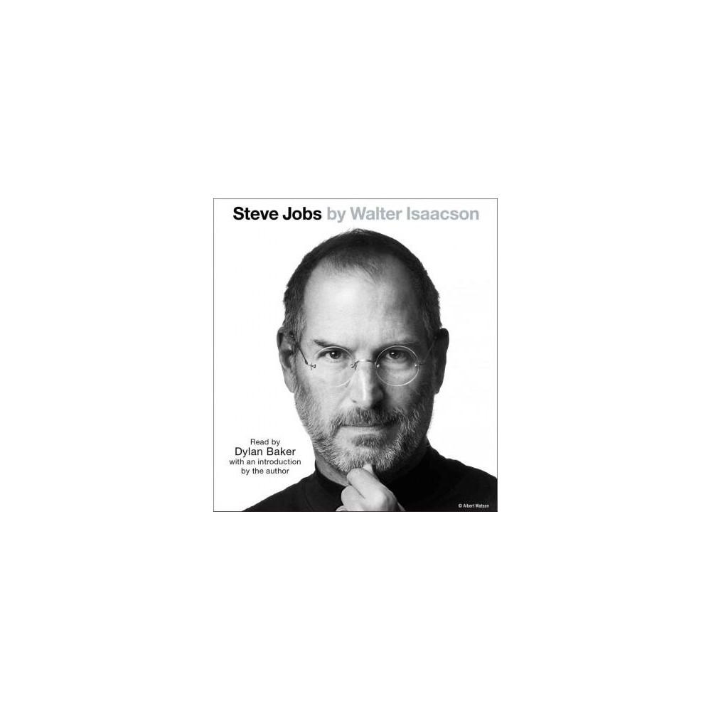 Steve Jobs (Abridged) (CD/Spoken Word) (Walter Isaacson)