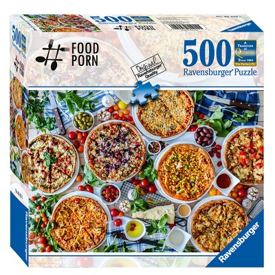 Ravensburger You Had Me at Pizza 500pc Puzzle