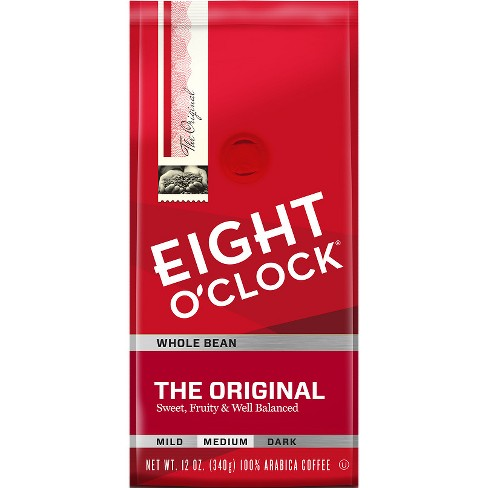 Eight O'Clock Original Medium Roast Whole Bean Coffee - 12oz - image 1 of 4