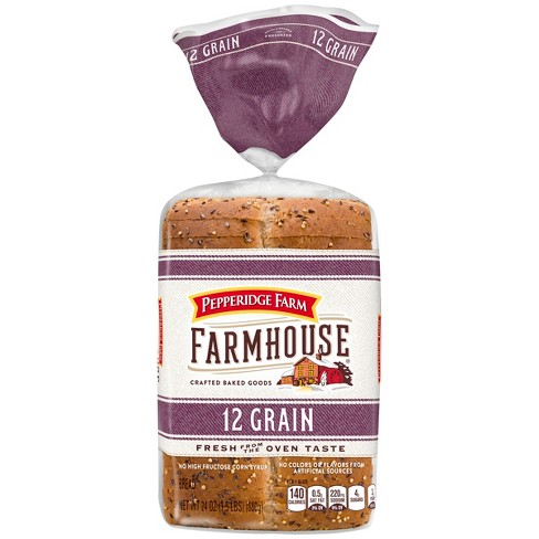 Pepperidge Farm Farmhouse® 12 Grain Bread, 24oz Bag - image 1 of 5