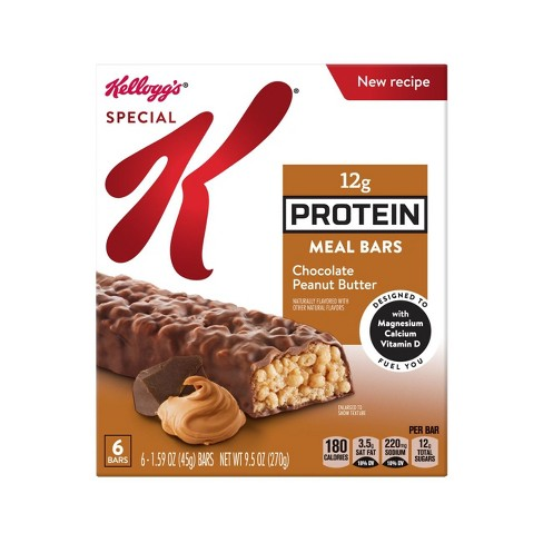 Special K Chocolate Peanut Butter Protein Meal Bar - 6ct - Kellogg's - image 1 of 8