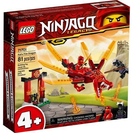 LEGO NINJAGO Legacy Kai's Fire Dragon 71701 Building Kit image number null