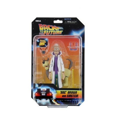 """Back to the Future - 6"""" Scale Action Figure - Toony figure """"Doc and Einstein"""""""